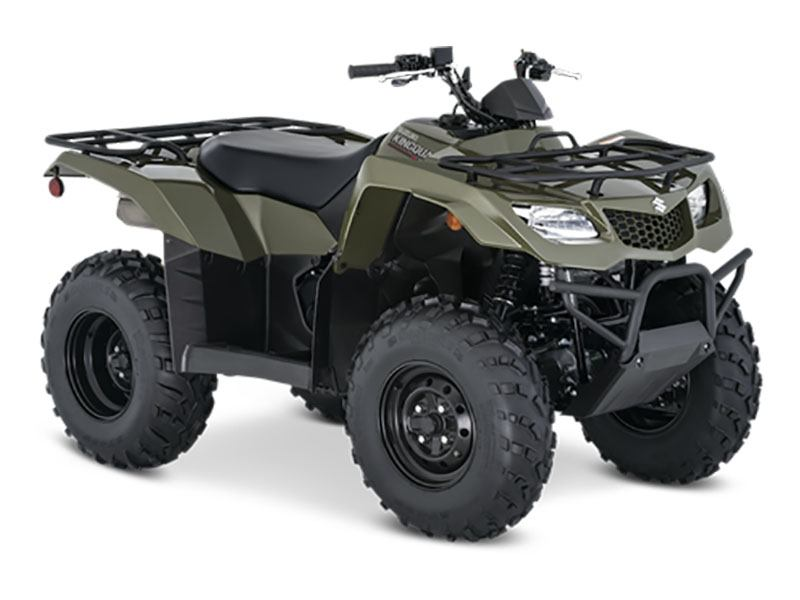 2021 Suzuki KingQuad 400ASi in Fremont, California - Photo 2