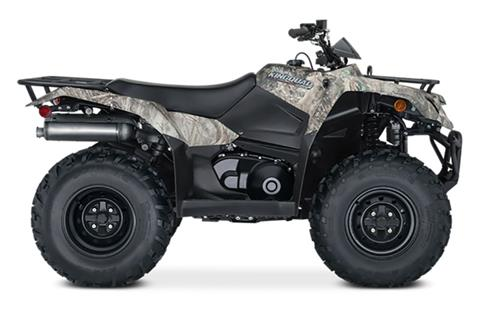 2021 Suzuki KingQuad 400ASi Camo in Del City, Oklahoma