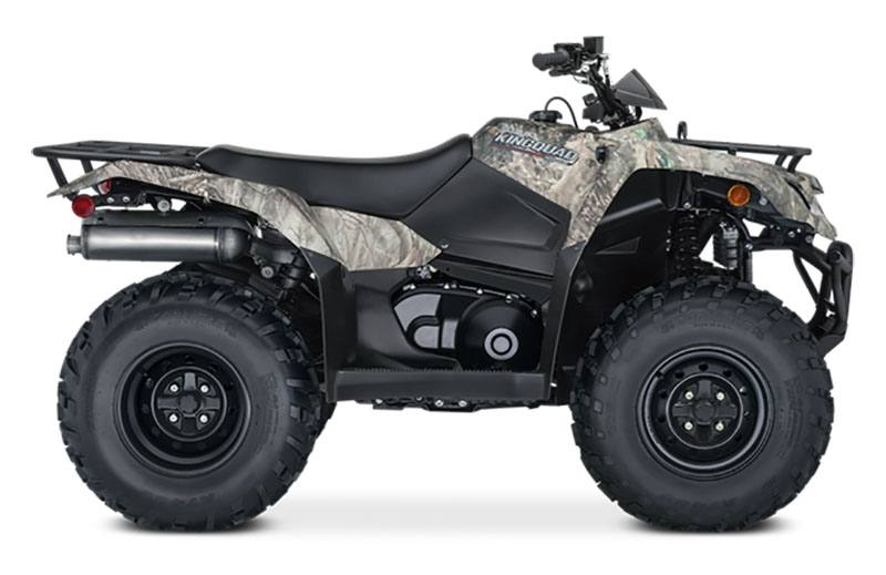 2021 Suzuki KingQuad 400ASi Camo in Albemarle, North Carolina - Photo 1