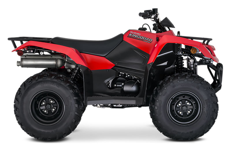 2021 Suzuki KingQuad 400FSi in Gonzales, Louisiana - Photo 1