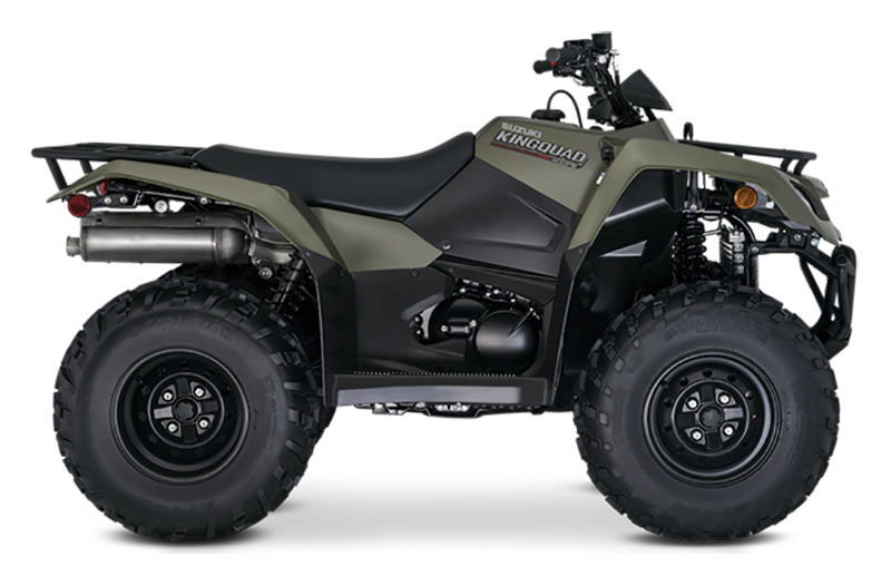 2021 Suzuki KingQuad 400FSi in Merced, California - Photo 1