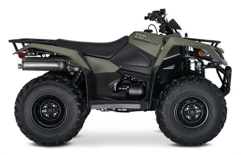 2021 Suzuki KingQuad 400FSi in Concord, New Hampshire