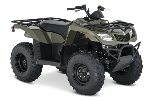 2021 Suzuki KingQuad 400FSi in Galeton, Pennsylvania - Photo 2
