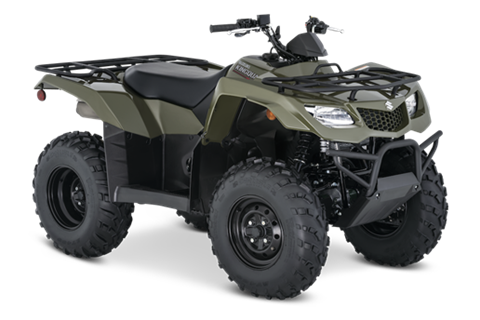 2021 Suzuki KingQuad 400FSi in Hancock, Michigan - Photo 2