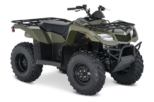2021 Suzuki KingQuad 400FSi in Fremont, California - Photo 2