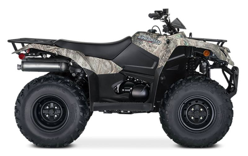 2021 Suzuki KingQuad 400FSi Camo in Coloma, Michigan - Photo 1