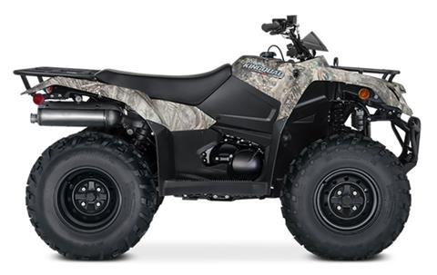 2021 Suzuki KingQuad 400FSi Camo in Watseka, Illinois