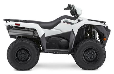 2021 Suzuki KingQuad 500AXi Power Steering in Marietta, Ohio