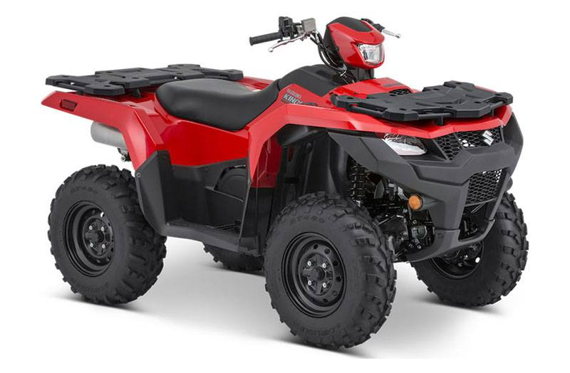 2021 Suzuki KingQuad 500AXi Power Steering in Cambridge, Ohio - Photo 2