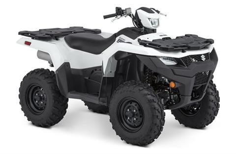 2021 Suzuki KingQuad 500AXi Power Steering in Scottsbluff, Nebraska - Photo 3