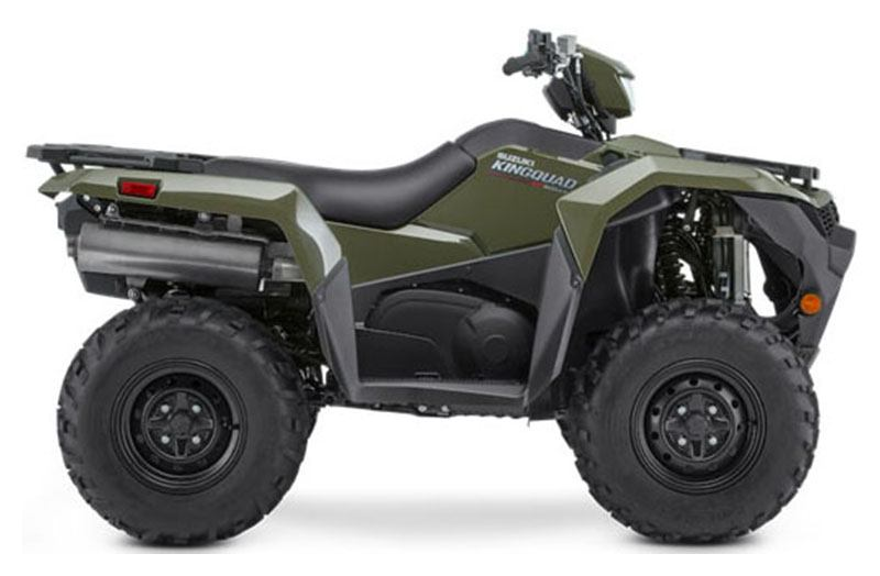 2021 Suzuki KingQuad 500AXi Power Steering in Belleville, Michigan - Photo 1