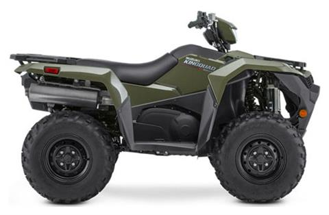 2021 Suzuki KingQuad 500AXi Power Steering in Watseka, Illinois