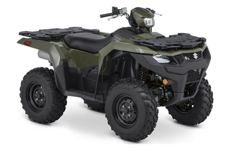 2021 Suzuki KingQuad 500AXi Power Steering in Cumberland, Maryland - Photo 2