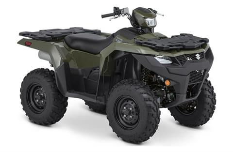 2021 Suzuki KingQuad 500AXi Power Steering in Belleville, Michigan - Photo 2