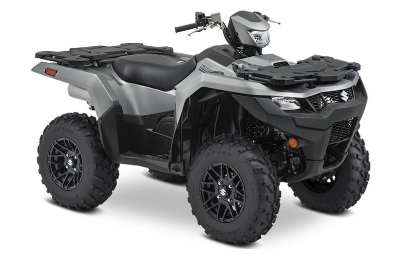 2021 Suzuki KingQuad 500AXi Power Steering SE+ in Hancock, Michigan - Photo 2