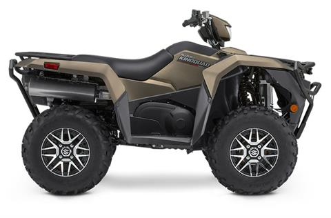 2020 Suzuki KingQuad 750AXi Power Steering SE+ with Rugged Package in Iowa City, Iowa