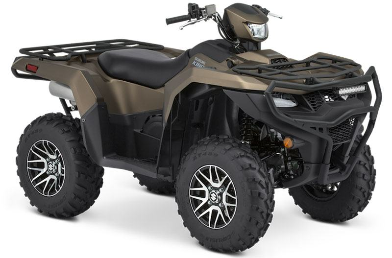 2020 Suzuki KingQuad 750AXi Power Steering SE+ with Rugged Package in Belleville, Michigan - Photo 2