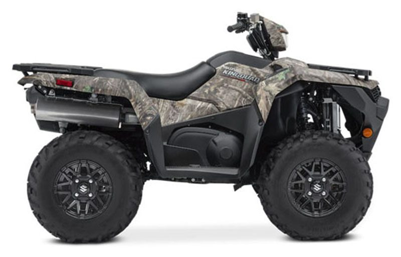 2021 Suzuki KingQuad 500AXi Power Steering SE Camo in Woonsocket, Rhode Island - Photo 1