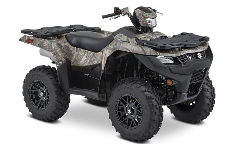 2021 Suzuki KingQuad 500AXi Power Steering SE Camo in Junction City, Kansas - Photo 2