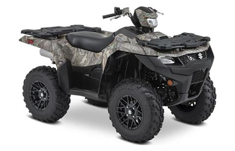 2021 Suzuki KingQuad 500AXi Power Steering SE Camo in Mineola, New York - Photo 2