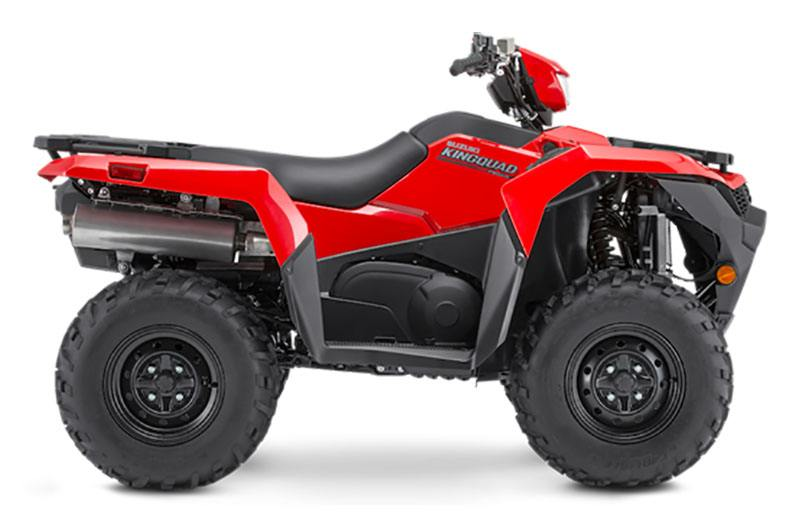 2021 Suzuki KingQuad 750AXi Power Steering in Jamestown, New York - Photo 1