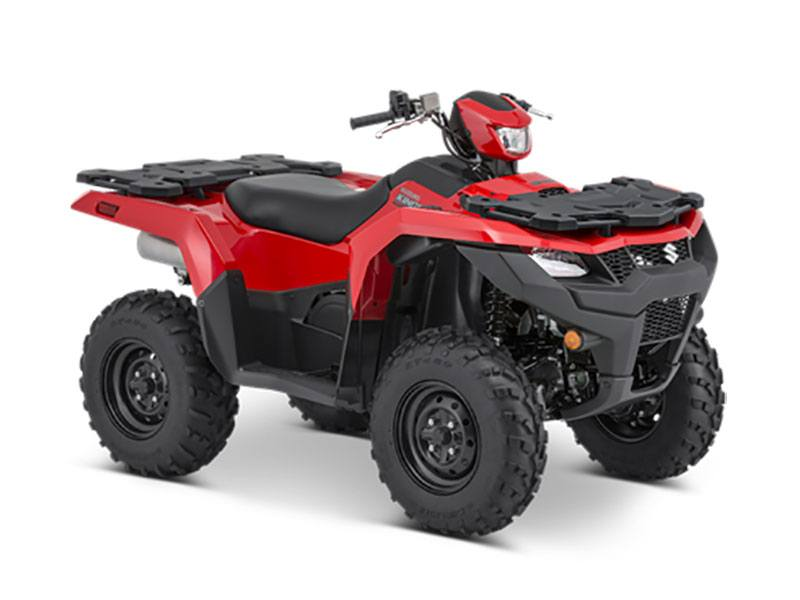 2021 Suzuki KingQuad 750AXi Power Steering in Jamestown, New York - Photo 2