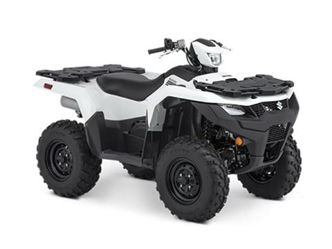 2021 Suzuki KingQuad 750AXi Power Steering in Iowa City, Iowa - Photo 2