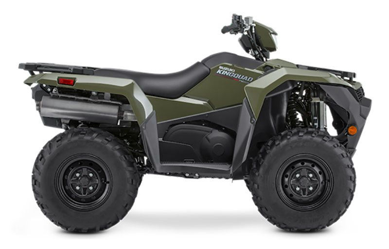 2021 Suzuki KingQuad 750AXi Power Steering in Danbury, Connecticut - Photo 1