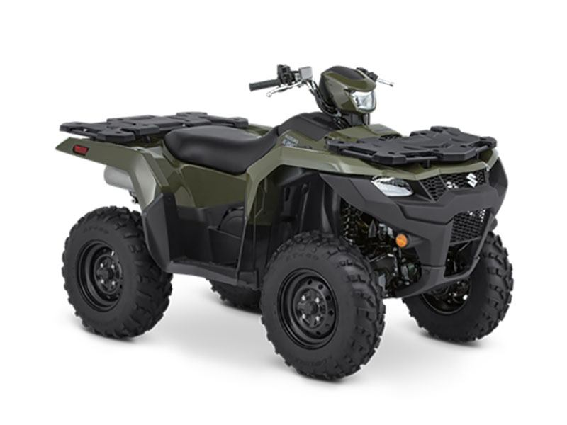 2021 Suzuki KingQuad 750AXi Power Steering in Elkhart, Indiana