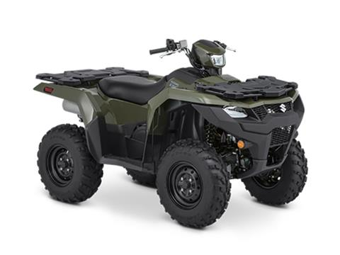 2021 Suzuki KingQuad 750AXi Power Steering in Santa Clara, California - Photo 2