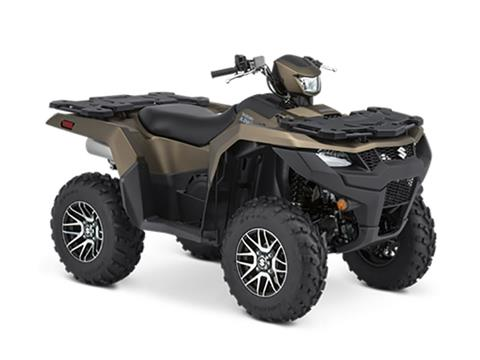 2021 Suzuki KingQuad 750AXi Power Steering SE+ in Merced, California - Photo 2