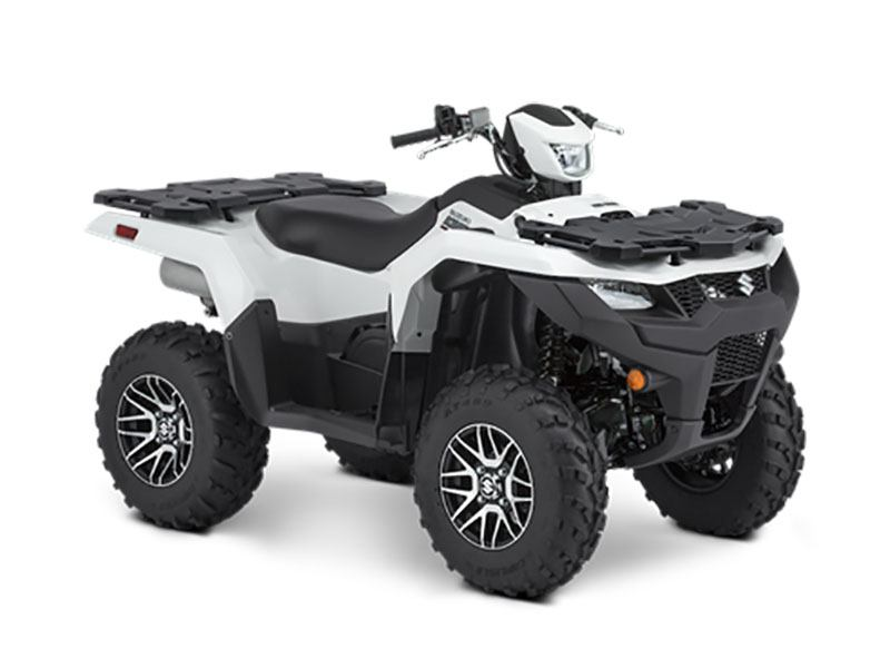 2021 Suzuki KingQuad 750AXi Power Steering SE in Woonsocket, Rhode Island - Photo 2