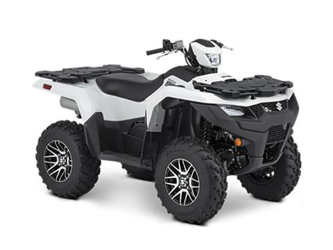 2021 Suzuki KingQuad 750AXi Power Steering SE in Visalia, California - Photo 2