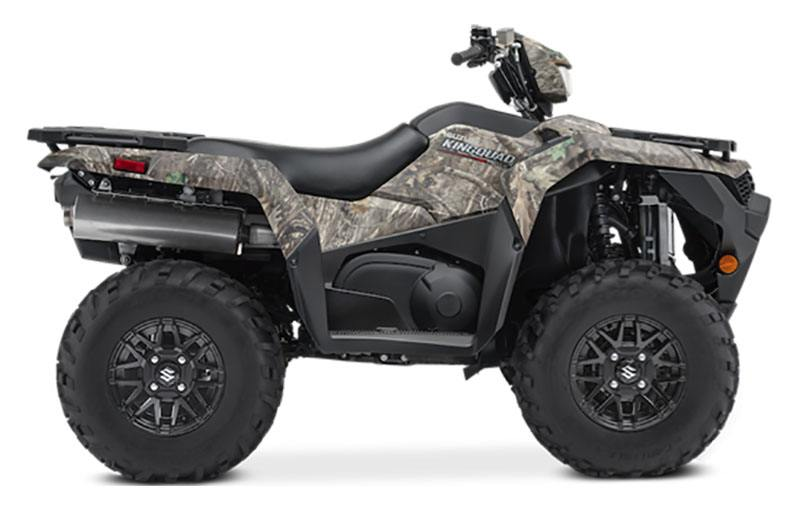2021 Suzuki KingQuad 750AXi Power Steering SE Camo in Fremont, California - Photo 1