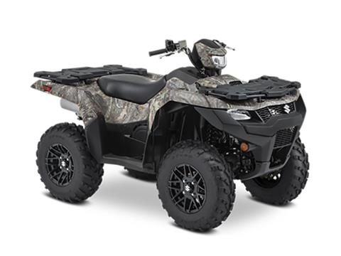 2021 Suzuki KingQuad 750AXi Power Steering SE Camo in College Station, Texas - Photo 2