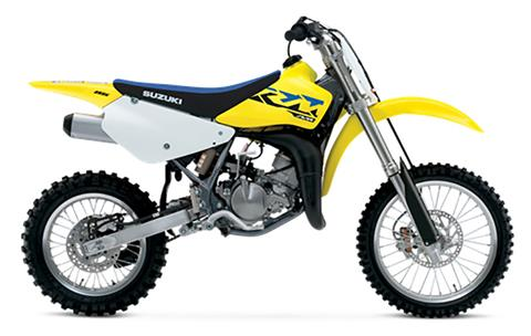 2021 Suzuki RM85 in Concord, New Hampshire