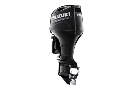 2019 Suzuki Marine DF200APL Mechanical Shift in Black River Falls, Wisconsin