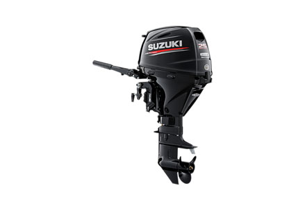 2019 Suzuki Marine DF25AS EFI Electric in Black River Falls, Wisconsin