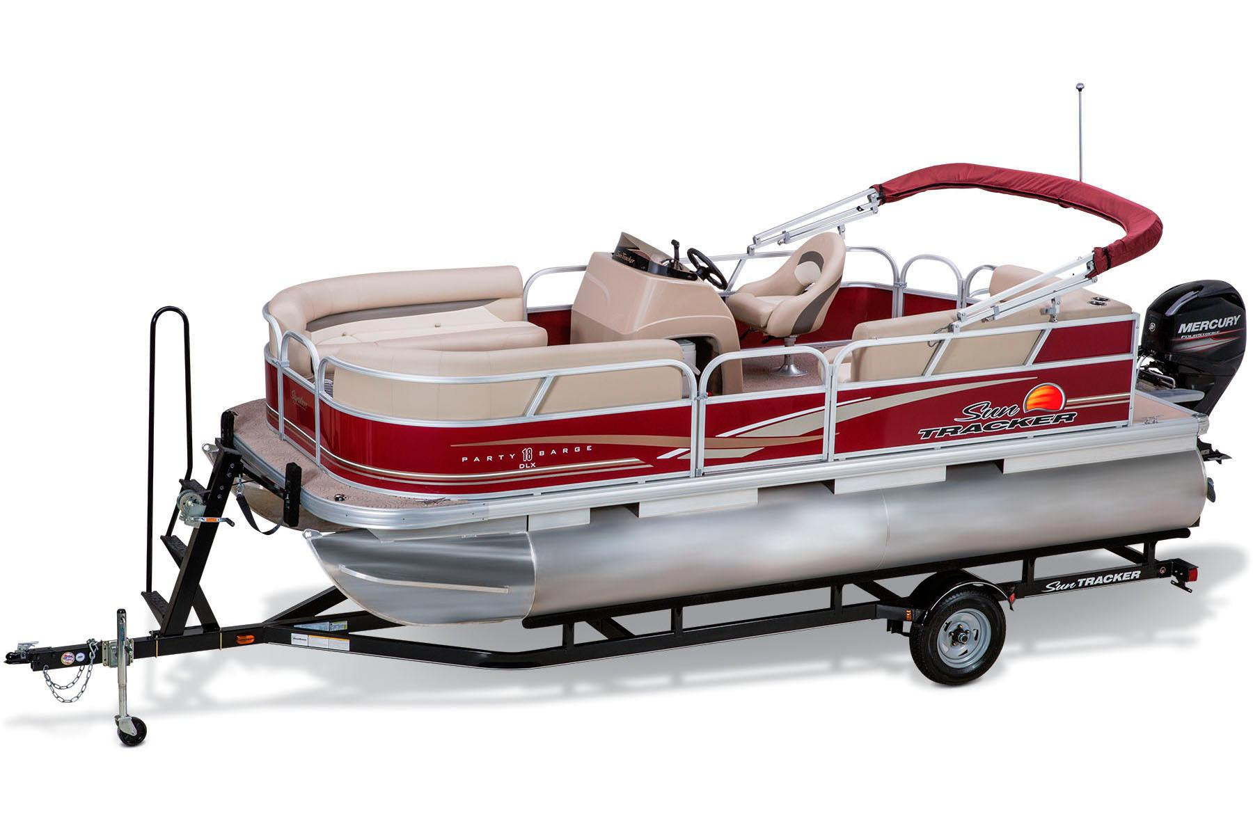 2014 Sun Tracker Party Barge 18 DLX in Lake City, Florida