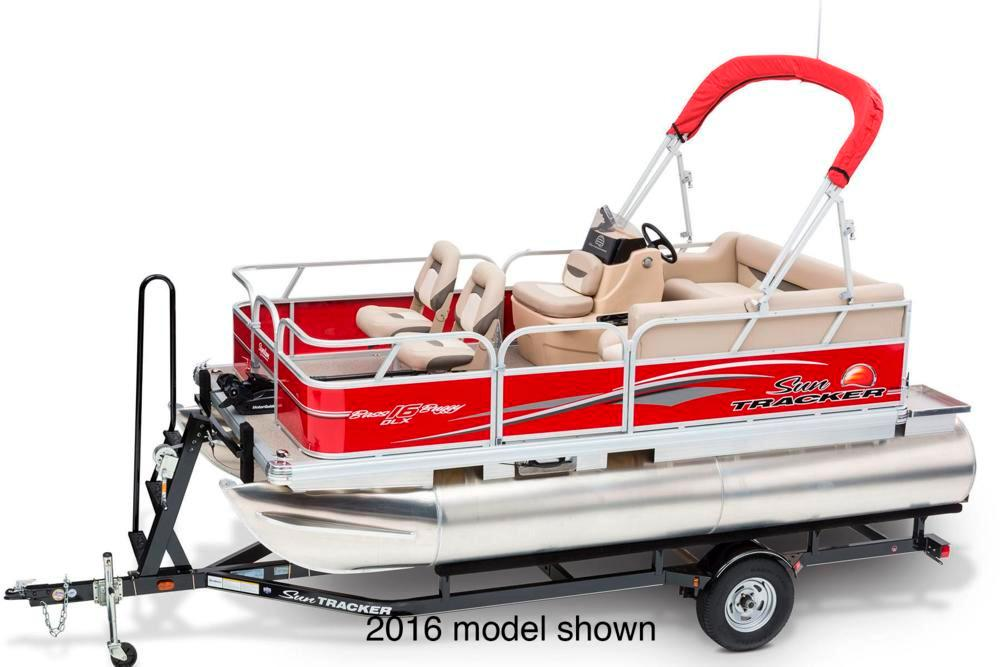 New 2017 sun tracker bass buggy 16 dlx et power boats for Tracker outboard motor parts