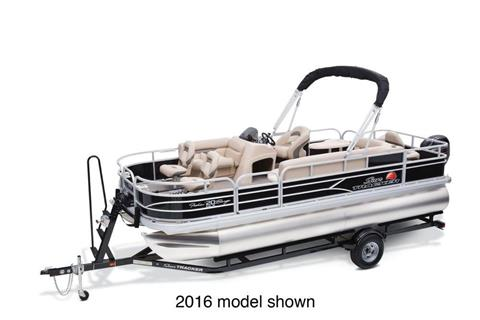 2017 Sun Tracker Fishin' Barge 20 DLX in Gaylord, Michigan