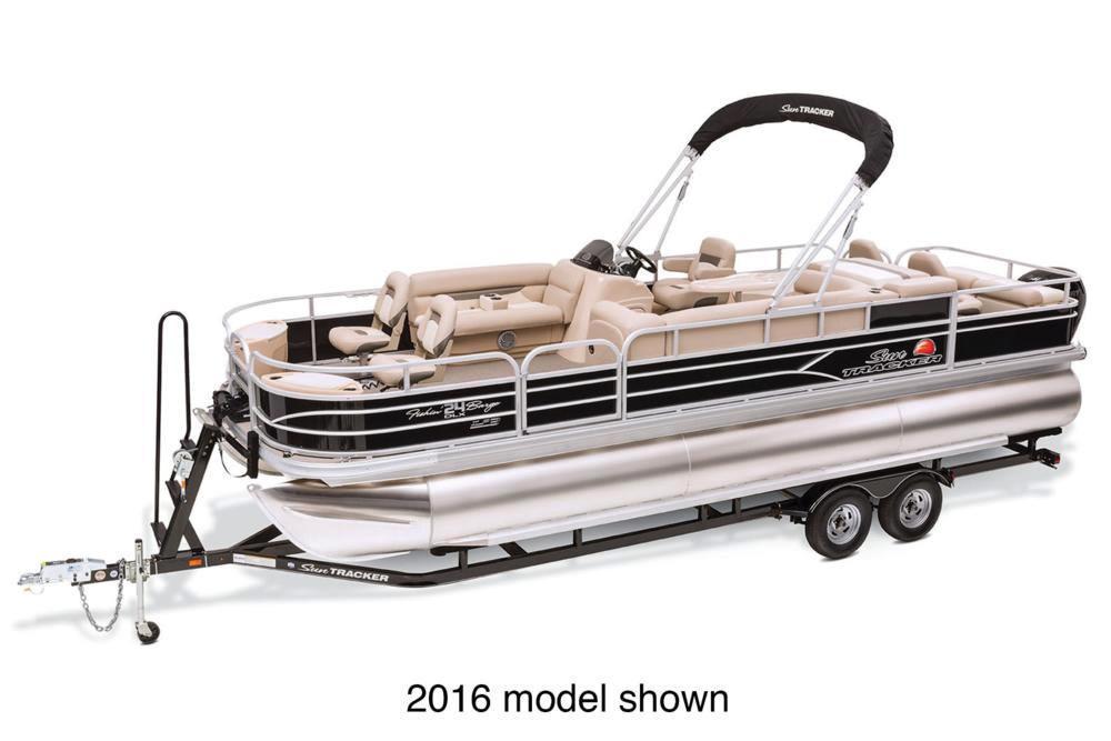 2017 Sun Tracker Fishin' Barge 24 XP3 in Gaylord, Michigan