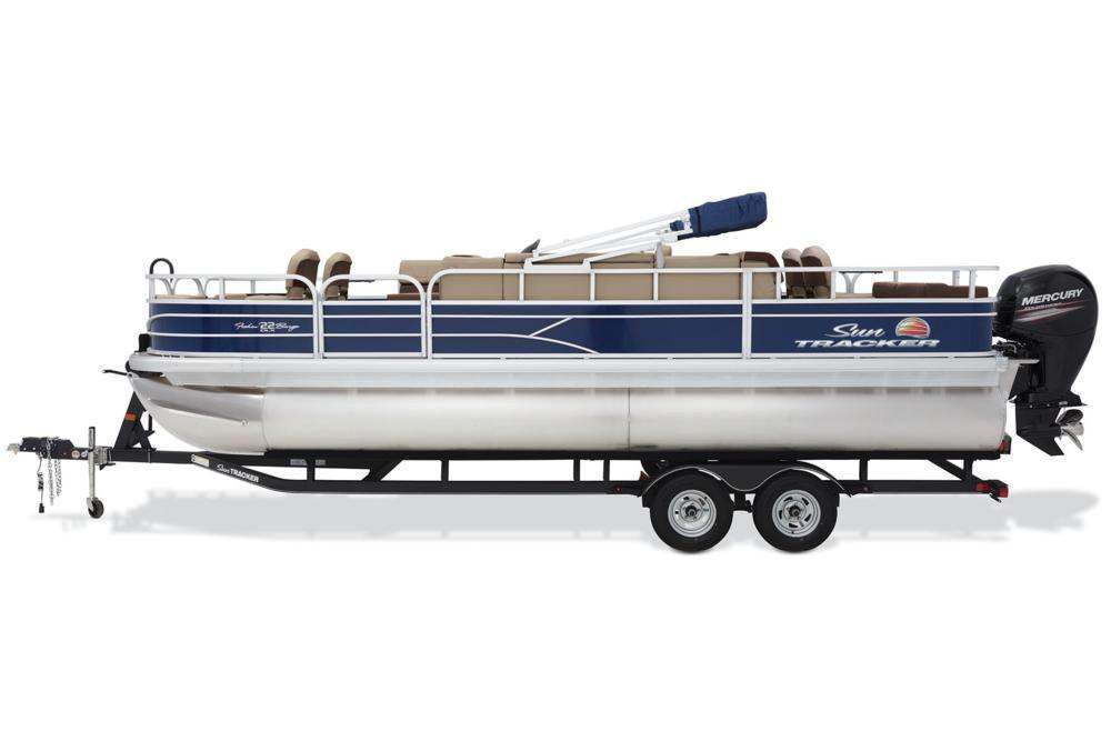2018 Sun Tracker Fishin' Barge 22 DLX in Waco, Texas