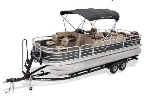2018 Sun Tracker Fishin' Barge 22 XP3 in Harriman, Tennessee