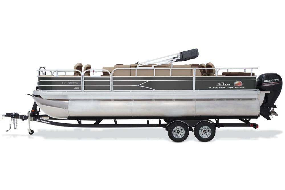 2018 Sun Tracker Fishin' Barge 22 XP3 in Holiday, Florida