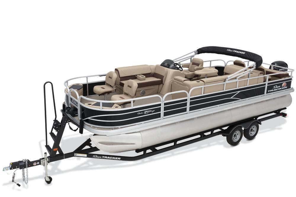 2018 Sun Tracker Fishin' Barge 24 DLX in Holiday, Florida