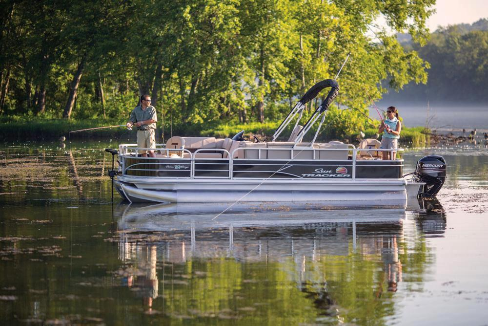 2019 Sun Tracker Fishin' Barge 20 DLX in Waco, Texas - Photo 5