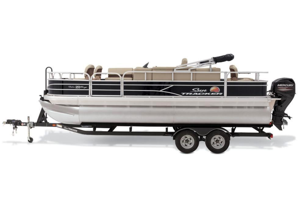2019 Sun Tracker Fishin' Barge 20 DLX in Waco, Texas - Photo 12