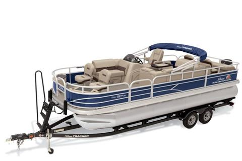 2019 Sun Tracker Fishin' Barge 22 DLX in Gaylord, Michigan