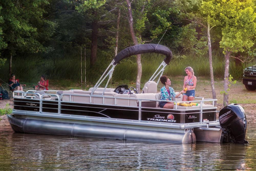 2019 Sun Tracker Fishin' Barge 24 XP3 in Rapid City, South Dakota